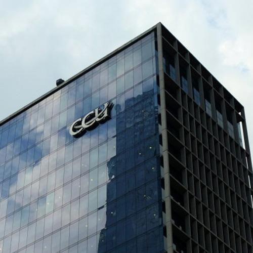 Edificio CCU, Sigro, 1.800 toneladas