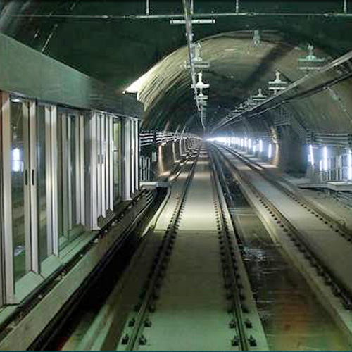 Obras varias Metro: 100 ton. Tensacon