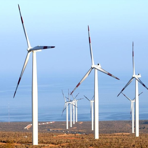 Parque Eólico Talinay II,  GES 835 ton